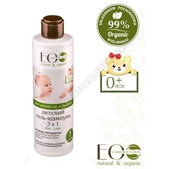ECOLAB BABY żel p/prysznic i szampon do wł