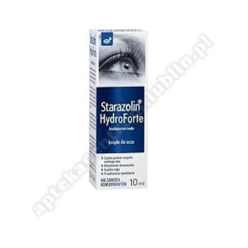 Starazolin HydroForte krop.do oczu 10 ml