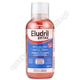 Eludril EXTRA 0,20% Płyn do płukania jamy 300 ml