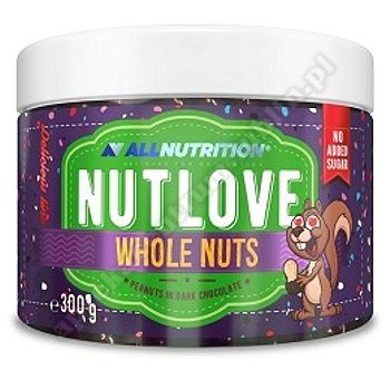 Allnutrition Delicious Line Nutlove Whole 300 g(orzeszki arachidowe w czekoladzie deserowej)