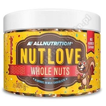 Allnutrition Delicious Line Nutlove Whole (migdaly w mlecznej czekoladzie )