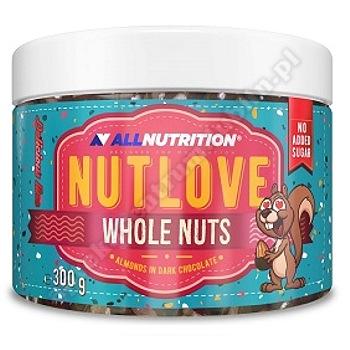Allnutrition Delicious Line Nutlove Whole 300g (migdały w ciemnej czekoladzie )