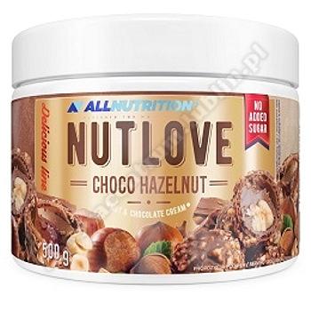 Allnutrition Nutlove choco hazelnut 500g (krem orzechowo-czekoladowy)