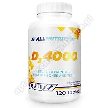 Allnutrition D3 4000 tabl. 120 tabl.