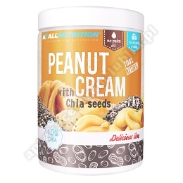 ALLNUTRITION PEANUT CREAM 1000 g CHIA SEEDS-d.w.2021.06
