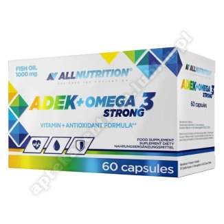 Allnutrition  ADEK+Omega 3 Strong kaps. 60