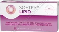 Softeye Lipid 20 poj.a 0,3ml+Softeye Net 20 pojemników x0,4ml GRATIS