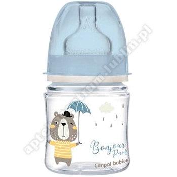 Butelka 120ml Canpol babies szeroka antykolkowa  Easy Start BONJOUR 35/231