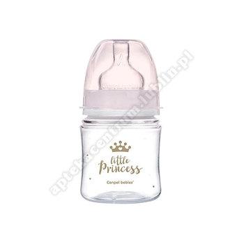 Butelka 120ml Canpol babies szeroka antykolkowa PP Easy Start ROYAL BA 35/233 róż