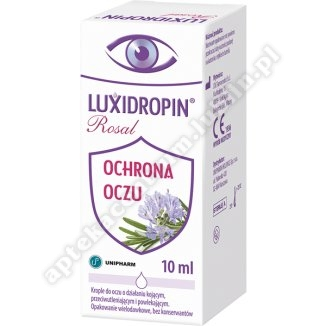 Luxidropin ROSAL krop.do oczu 10 ml
