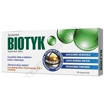 Biotyk 0,4 g 10 kaps.