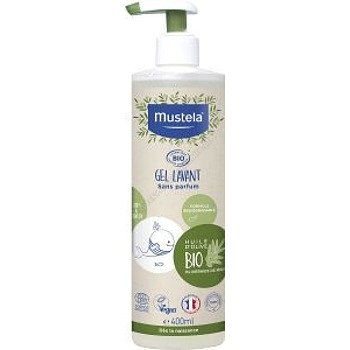 MUSTELA BIO Żel do mycia 400 ml+mustela liniment50 ml gratis !!!