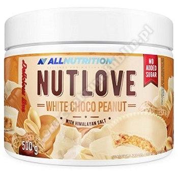 Allnutrition Nutlove white choco peanut 500 g ( BIAŁA CZEKOLADA Z ORZECHAM)