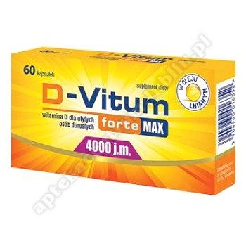 D-Vitum Forte Max 4000 j.m. kaps. 60kaps.