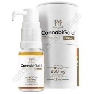 CannabiGold Basic 250 olej 12 ml
