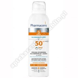 PHARMACERIS S Emulsja ochronna dla niemowląt i SPF 50+ 150 ml