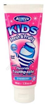 BEAUTY FORMULAS ACTIVE Pasta d/zęb. Kids Fresh Fruity
