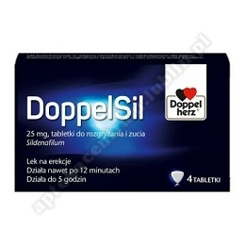 DoppelSil tabl.rozgryz.żucia 0,025g 4szt