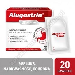 Alugastrin 3 Forte (saszetki) 20 sasz.