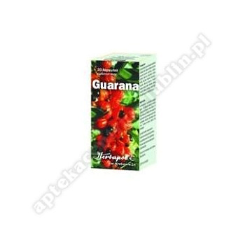 Guarana kaps. 20 kaps.