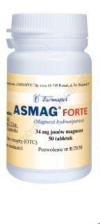 Asmag forte tabletki 0.5 x 50