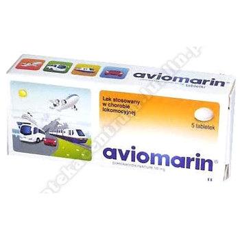 Aviomarin tabletki 0.05g x  5 sztuk