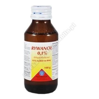 Rivanol 0.1% rozt. 100 g