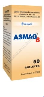 Asmag B tabletki x 50
