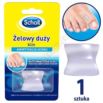 Scholl gelactive klin miedzypalcowy duży 1 sztuka