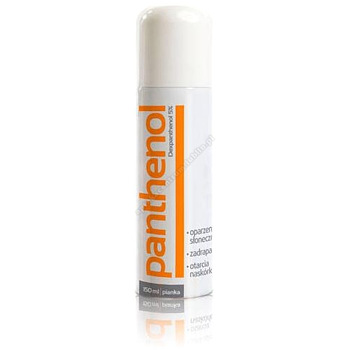 PANTHENOL Pianka 5 % 150 ml
