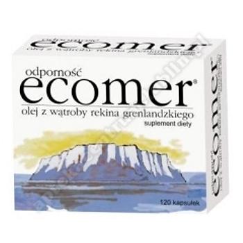 Ecomer odporność kaps.miękkie 0,25g 120kaps