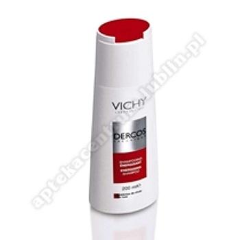 VICHY Dercos szampon wzmacnijący czerwony z aminexilem 200ml