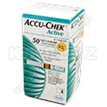 Accu-Chek Active test paskowy 50 sztuk