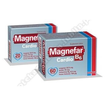 Magnefar B6 Cardio tabl. 60 tabl.